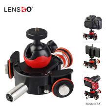 LENSGO Camera Video Track Motorized Electric Slider Motor Truck for Nikon Canon