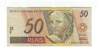 50 Reais Brasilien 1994 C309 / P.246a Serie AA First Variety! -  Brazil Banknote