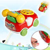 Educational Developmental Kids Toy Gift  Baby Toys Music Cartoon Phone