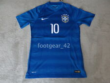 Nike Brazil Authentic Neymar Jr Soccer Jersey Player Paris St Germain PSG Shirt