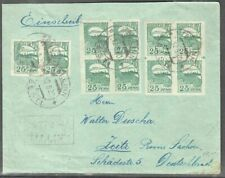 Estonia 1920 R-Cover to Germany with Mi 15(10)