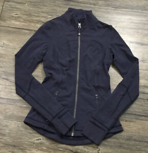 Lululemon Forme Jacket II Womens Sz 4 .