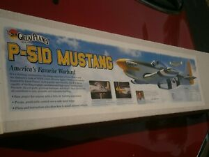 Vintage great planes P-51D Mustang  R/C  Kit