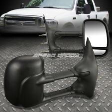 For 03-14 Ford E-Series E150-550 Van Extendable Arm Rear View Towing Mirror Pair (Fits: Ford)
