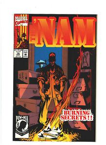 The 'Nam #78 VF/NM 9.0 Marvel Comics Vietnam War 1993