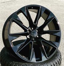 24 Inch Gloss Black Replica C17 Gmc Sierra Ltz Wheels Rims C14 22 26