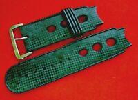 bracelet caoutchouc 20 mm strap band plongé diving watch diver Taucher VINTAGE A