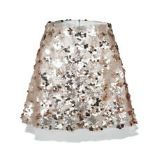 e3faa0d933 Lady Sequin Tulle Skirt A-Line Mini Dress Metallic Sparkle Shiny Zipper  Sexy Hot