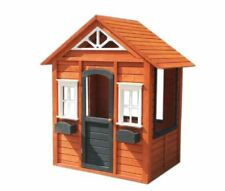 New kids Cubby House Outdoor wooden Playhouse Cottage Play house