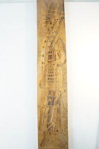 Spekulatiusbrett Spekulatiusform Holz einseitig handbeschnitzt ca 100 Jahre 1