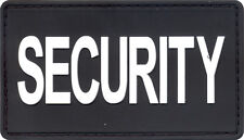 Security PVC Waterproof Hook Patch - Black & White