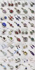 Shops Mall ! WHOLESALE! 25 LOVELY 925 SILVER EARRINGS PENDANT SETS! SilverStar