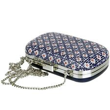 ESPRIT Disco Damen Tasche UVP 59,99€ Handtasche Metall Kette Party Bag Case NEU