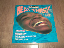 "V/A "" BEAT THIS!  THE ALBUM "" VINYL LP EX/EX 1990 BETTY BOO / S'EXPRESS / MERLIN"
