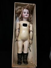 Rare Antique French  Mechanical Walking Doll by Eden Bebe