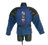 Rukka Ergotect Gore-Tex CORDURA RVP SYSTEM Motorcycle Jacket Blue Finland Sz 46