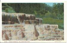 Postcard - Hymen Terrace - Yellowstone. Unposted. J E Haynes