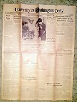 University of Washington Newspaper 1938