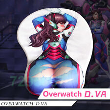 Overwatch Game D.VA Mouse Pad Play Mat Buttock Mousepad Collectibles Blessing