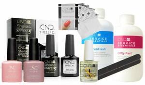 CND Shellac Kit - Starter Set Small - Nude Edition - Spar Kit 15% geschenkt