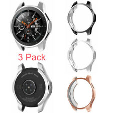 3 Pack For Samsung Galaxy Watch 42mm Soft TPU Protective Case Bumper Frame Cover