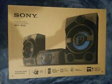 New Sony MHCM20 Bluetooth Wireless Music System Portable Nice