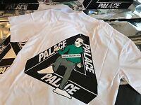 PALACE SKATEBOARDS FW16 MEDIUM WHITE JOKER TRI FERG TEE T-SHIRT M 2016 STONE