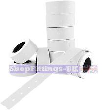 10,000x Price Gun White Labels 21 x 12mm(22mm x 12mm) CT1 MoTex Puma10 rolls