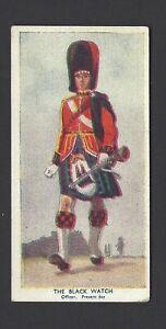"TEOFANI - PAST & PRESENT ""A"" THE ARMY (NO FRAME) - #18 THE BLACK WATCH (PRESENT)"