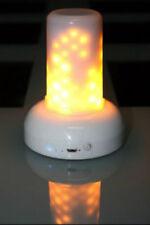 Onda de llama módulo 100 LED USB Charging 20 HR tiempo de ejecución por la luz de jardín 442151 Nuevo