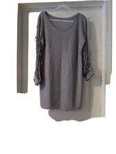Women's silver party dress size 4XL