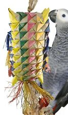 03411 Large Spiked Pillow Bird Toy Cage Toys Cages Foraging Chew Shredder