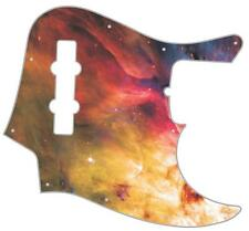 J Bass Pickguard Custom Fender Graphic Graphical Guitar Pick Guard Orion Nebula
