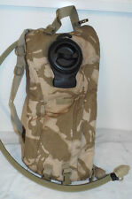 DESERT CAMOUFLAGE  HYDRATION SYSTEM CAMELBAK - British army issue , 3litre ,USED