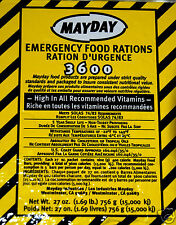Emergency food ration bar 3600 cal survival disaster camp tactical gear MAYDAY