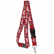 "Ohio State Buckeyes 21"" Lanyard Key Chain with Safety Release NCAA Licensed"