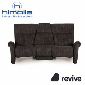 Himolla Cumuly Fabric Sofa Anthracite Dreistzer Couch Function Relaxfunktion