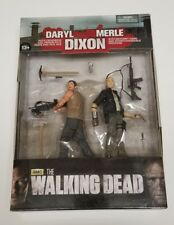 "Mib The Walking Dead Tv Series 2-pack Merle & Daryl Dixon figures ~ 4.5"" scale"