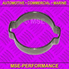 14-17 mm inoxydable 304 double Earclip Pack de 10-MSE379/ST/10