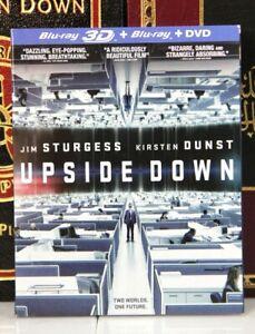 UPSIDE DOWN  3D  Kirsten Dunst Jim Sturgess -- BLU-RAY w SLIPCOVER -I SHIP BOXED