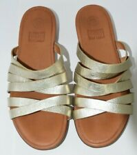 FITFLOP ROSE GOLD SANDALS COMFORT CUSHIONED SIZE 8 EU42