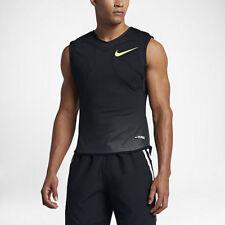 Nike Vapor Speed Max Black Knit Padded Football Tank Top Mens Large *NEW* $85