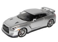 Nissan Skyline Gtr Gt-r 2009 R35 R 35 Silber Coupe 1//24 Jada Toys Modellauto Mod