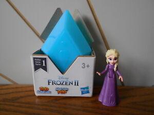 ELSA - PURPLE DRESS toy figure POP ADVENTURES Disney Princess FROZEN II 2 Hasbro