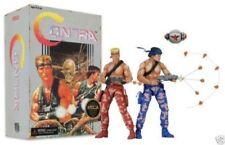KONAMI Classic Video Games Contra 80's Memory Bill Rizer & Lance Bean Figures