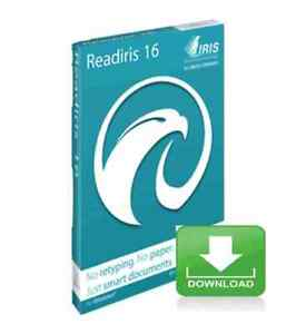 Readiris Pro 16 OCR and Document Managment for PC -- Electronic Download