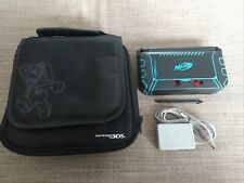 Nintendo 3DS XL Launch Edition Handheld Red Gaming System with Mario travel bag