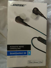 BOSE QC20 QUIETCOMFORT 20 ACOUSTIC NOICE CANCELLING 718839-0010 BRAND NEW,SEALED