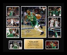 New Kyrie Irving Signed Boston Celtics Limited Edition Memorabilia Framed