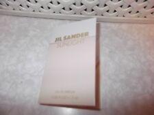 Women's Jil Sander Sunlight Eau De Parfum sample sprays 1 x 1.2ml New Release